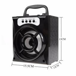 Caixa de Som Speaker Altomex - A-37 Preta