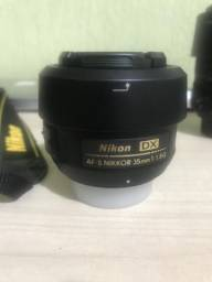 Lente Nikon Nikkor 35mm, f. 1:1.8G