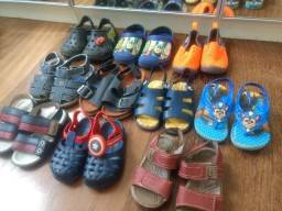 Lote calçados masculino