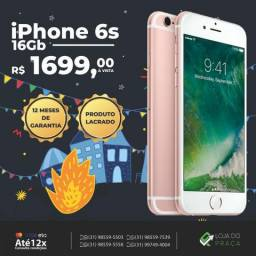 O. iPhone 6s 16gb - Mega Promo - Todas as Cores