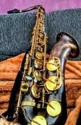 Saxofone Tenor Dolphin c/pintura personalizada