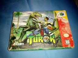 Caixa do Turok - Nintendo 64