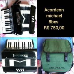 Acordeon/sanfona 8bxs