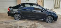 Etios 1.5 platinum 17/18 automático sedan - 2018