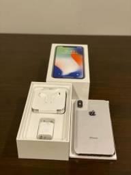 IPhone X 64 Spa e Gray (Preto) e IPhone X 64 Silver (Branco)
