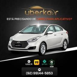 Uberkar - Aluguel - Locação de Carros para Aplicativos - a partir de R$ 70,00 Km Livre