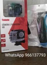 """Câmera Filmadora Hd 1080p (+) brinde """"bastão para mergulho"""""""