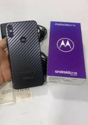 Motorola one 64gb na cor preta