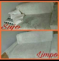 Lavagem de sofá a Domicílio