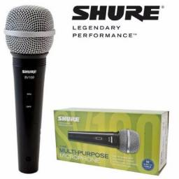 Microfone Shure SV 100 Com Fio Novo+Garantia
