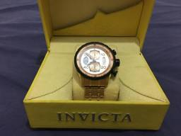 04d03bd9acd Relógio invicta masculino dourado