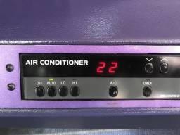 Sistema completo de ar condicionado para ônibus!