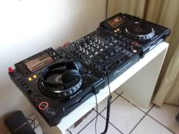 Aluguel de cdjs 2000 e DJM 700