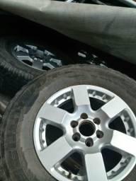 Rodas completa da pick-up Nissan frontier - 2017