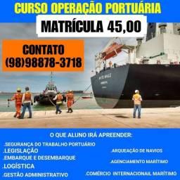 Curso operações portuária