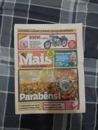 Corinthians. 100 anos. Jornal Mais. Ano 1. Nº 225