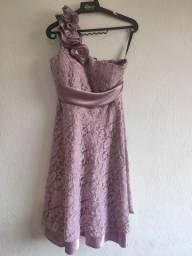 Vestido de festa lilás lindo