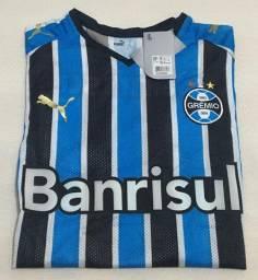 Camisa Grêmio 1 Puma EG Nº 10 - Banrisul (2008)