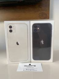 IPhone 11 Branco/Black 128 Gigabytes, NOVO