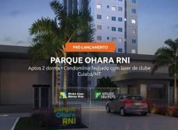 Lançamento - Parque Ohara RNI -Apartamentos 2/4 registro e ITBI gratis