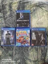 Coletânea de Jogos Físicos PS4