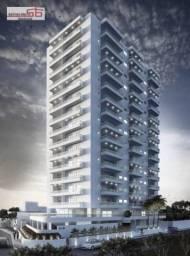 Apartamento com 2 dormitórios à venda, 80 m² por R$ 396.000 - Praia Grande - Praia Grande/