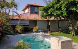 Excelente Casa 3Qtos na quadra praia c/terreno 796m² no Jd. Atlântico em Itaipuaçu