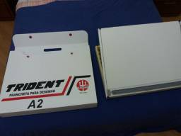 Prancheta de desenho A2 trident