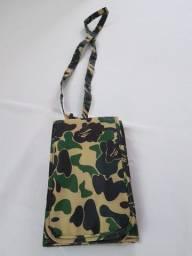Shoulder Bag Bape Camo Carteira Tira Colo Nova Hype Outfit