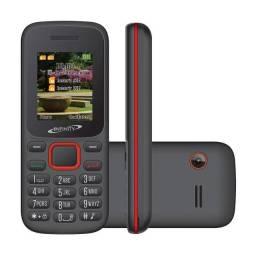 Celular Barra Infinity W201 Dual Tela 1.7 32MB Câmera, Rádio FM, MP3, Dual Chip