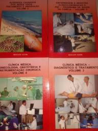 Livro de enfermagem e medicina