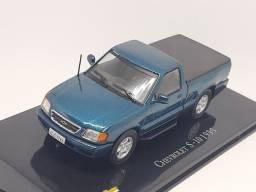 Miniatura chevrolet S-10 1995 escala 1/43