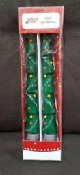 Holiday time Velas Decorativas <br>Modelo: Arvore de Natal