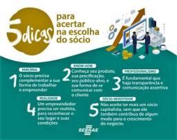 Procuro Sócio empreendedor (sociedade)