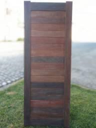 Porta madeira maciça Ipê