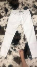 Calça Branca Jean Darrot (38)