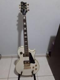 Guitarra Golden Les Paul + Cubo Meteoro
