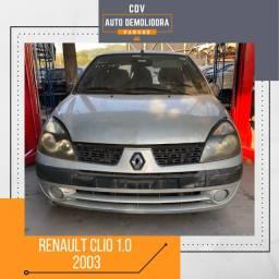 Título do anúncio: Sucata Renault Clio 1.0 2003 Disponível para venda de Peças