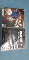 Jogos ps3 call of Duty e Fifa street
