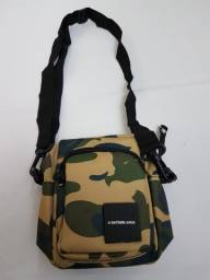Shoulder bag bape camo velcro logo a bathing aape nova hype