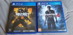 4 jogos de Playstation 4