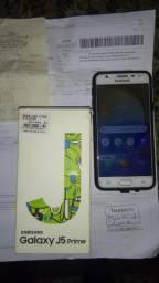 Samsung Galaxy J5 prime com carregador documento