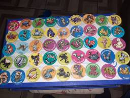 Lote cm 54 tazos ping pong
