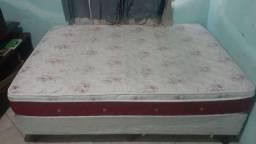 Cama box colchão removível