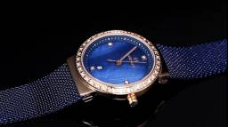 Relógio feminino Naviforce (NF5005) Azul