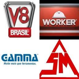 Autorizadas V8 Brasil-- Gamma--Worker--SM Equipamentos