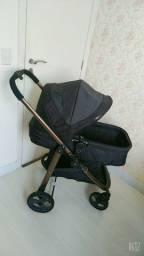 Carrinho  Moisés Galzerano + bebê conforto + base para veículos