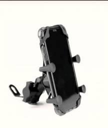 Suporte de célular para moto com carregador USB   R$50,00