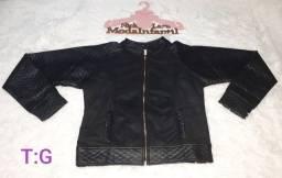 Jaquetas peluciada por dentro feminina