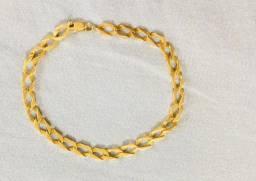 Pulseira de ouro puro 9,8 gramas masculina